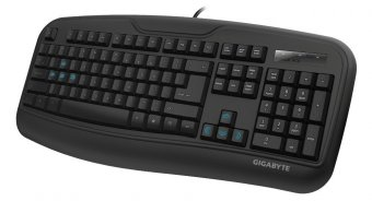 Teclado Gaming Gigabyte Force K3 Matt Black, Gk-force K3