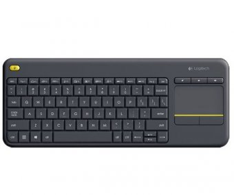 Teclado Logitech K400 Wireless Plus Com Touchpad 920-007125
