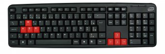 Teclado Newlink TC308 USB Level Preto