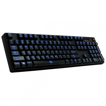 Teclado Thermaltake Tt Esports Poseidon z Plus Smart Switch Azul, Kb-pzp-klblus-01