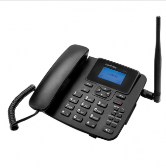 Telefone Celular Fixo Intelbras Longo Alcance Preto - CF 4201