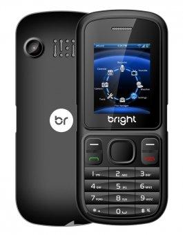 Telefone celular One Dual Chip c/câmera preto 0405 Bright