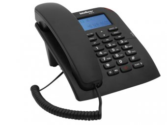 Telefone Intelbras Com Fio TC 60 ID Preto