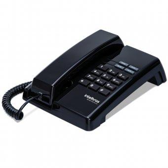 Telefone Intelbras com Fio TC50 Premium Preto