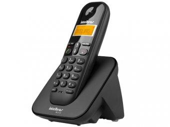 Telefone Intelbras Sem Fio Digital TS 3110 Preto