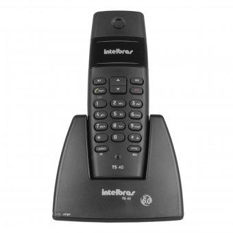 Telefone Intelbras Sem Fio TS40 Preto