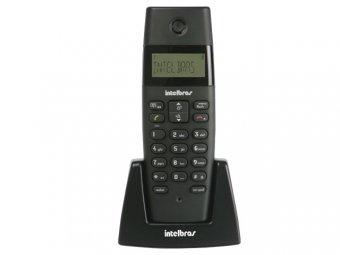 Telefone Intelbras TS 40 R S/Fio ID Preto