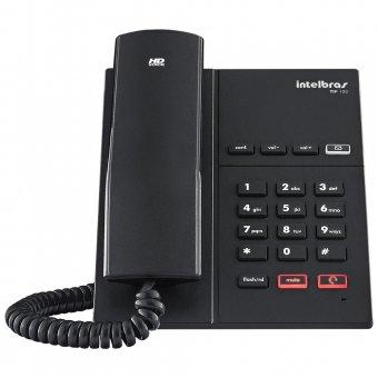 Telefone IP Intelbras com Fio TIP 120 Preto - 4060015