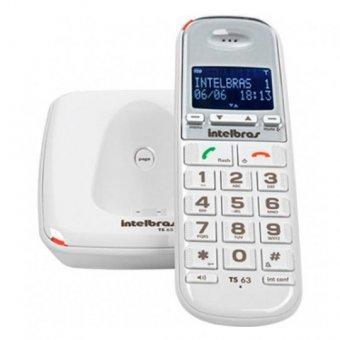 Telefone Sem Fio com Identificador de Chamadas e Viva Voz TS63V