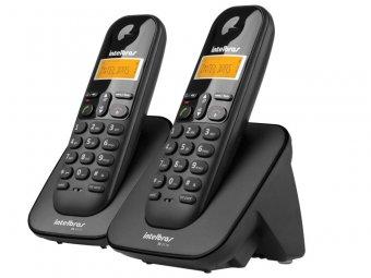 Telefone Sem Fio IntelBras TS3112 Preto, com Ramal Adicional e Identificador de Chamadas