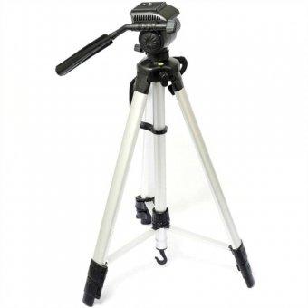 Tripe Suporte Para Camera Filmadora 1,80m Reforçado Retrátil Tomate