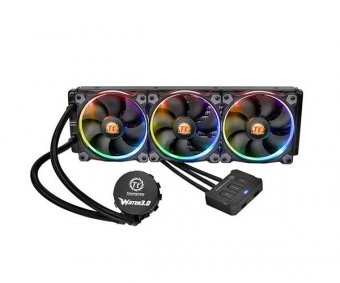 Water Cooler Thermaltake Water 3.0 Riing 360 Rgb, Cl-w108-pl12sw-a