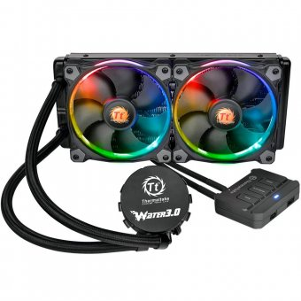 Watercooler Thermaltake 3.0 Riing Rgb 240 All In One Lcs - Cl-w107-pl12sw-a