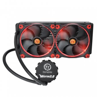 WaterCooler ThermalTake 3.0 Ring Red 280 ALL-IN-ONE LCS CL-W138-PL14RE-A