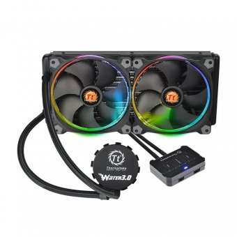WaterCooler ThermalTake 3.0 Ring Red RGB 280 ALL-IN-ONE LCS CL-W138-PL14SW-A