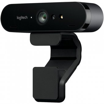 Webcam Logitech Brio 4k Pro Tecnologia Hdr e Rightlight 3 - 960-001105