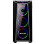 Gabinete Gamer C3TECH MT-G800BK S/Fonte