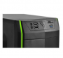 GABINETE PCYES MID TOWER JAVA VERDE S/FONTE 4