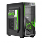 GABINETE PCYES MID TOWER JAVA VERDE S/FONTE 6