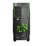 GABINETE PCYES MID TOWER JAVA VERDE S/FONTE 2