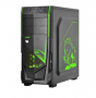 GABINETE PCYES MID TOWER JAVA VERDE S/FONTE 5