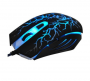Mouse Gamer Oex Óptico Action Usb 6 Botões Ms-300 Preto