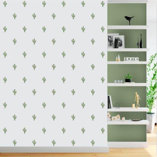 Kit de Adesivos Cactus com 200 peças