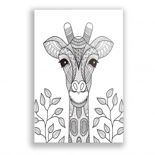 Quadro Decorativo Girafa - Ps234
