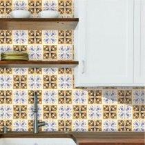 Imagem - Kit de Adesivos para Azulejo com 18 und. - Azu068 - Azu068