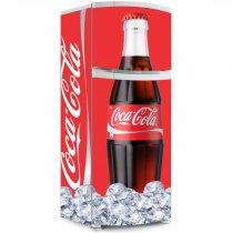 Imagem -  Geladeira Envelopada Coca Gelada - GI049