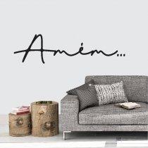 Imagem - Adesivo de Parede - Amém... - ADE064 - 1ADE064