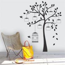 Imagem - Adesivo de Parede - Árvore Genealógica  - ADE406