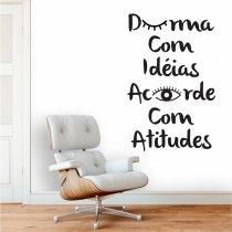Imagem - Adesivo de Parede - Durma com Idéias - ADE602 - 1ADE602