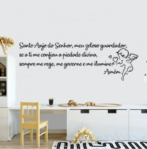 Imagem - Adesivo de Parede - Santo Anjo - ADE057 - 1ADE057