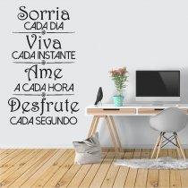 Imagem - Adesivo de Parede - Sorria - ADE058 - 1ADE058