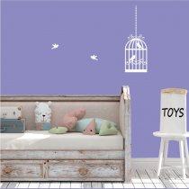 Imagem - Adesivo decorativo Gaiola - ADE454 - 3ADE454