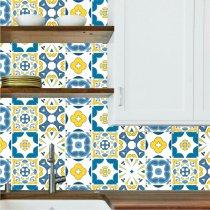 Imagem - Kit de Adesivos para Azulejo com 18 und. - Azu06 - Azu06