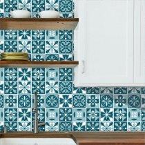 Imagem - Kit de Adesivos para Azulejo com 18 und. - Azu070 - Azu070