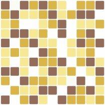 Imagem - Adesivos para Azulejos Kit 12Pçs - Lavável - 30x30cm - PD023 - 3PD023