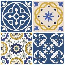 Imagem - Adesivos para Azulejos Kit 12Pçs - Lavável - 30x30cm - PD035 - 3PD035
