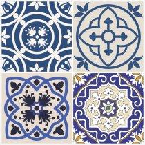 Imagem - Adesivos para Azulejos Kit 12Pçs - Lavável - 30x30cm - PD036 - 3PD036