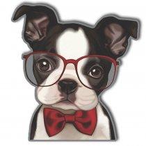 Imagem - Cachorro de óculos em MDF - AN019 - AN019