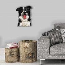 Imagem - Cachorro mostrando a lingua em MDF - AN018 - AN018