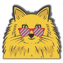 Imagem - Cachorro pop art em MDF - PA005 - PA005