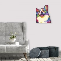 Imagem - Cachorro pop art em MDF - PA007 - PA007