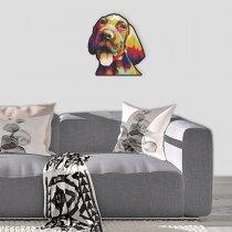 Imagem - Cachorro pop art em MDF - PA010 - PA010