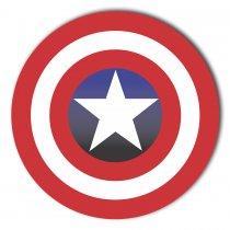 Imagem - Capitão América em MDF - ND003 - ND003