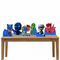 Imagem - Kit 6 Displays Mesa - Pj Mask -KD002 - KD002