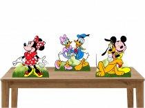 Imagem - Kit 3 Displays de Mesa  - Turma do Mickey  - TOT167