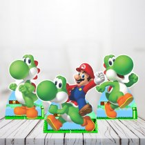 Imagem - Kit 3 Displays Mesa - Super Mario Bros - TOT270 - TOT270